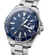 Tag Heuer Aquaracer Menand039s Blue Dial Swiss Automatic Watch Way211c.ba0928