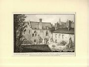 Rare Antiquity Smith London Art Print - And039s Chamber House Of Lords1807