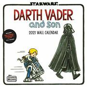Star Wars Darth Vader And Son 2021 Wall Calendar By Brown, Jeffrey Book The