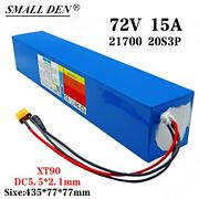 72v 15ah Li-ion Battery Volt Rechargeable Bicycle 3000w E Bike Electric Scooter
