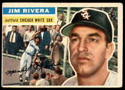 1956 Topps 70 Jim Rivera Excellent White Sox       Id228560