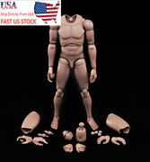1/6 Scale Europe Skin Male Figure Body Model Toy Mx02-a Fit For Head With Neck