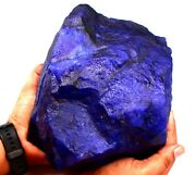 38840 Ct/7.768 Kg Certified Natural Blue Sapphire Huge Size Gemstone Rough On253