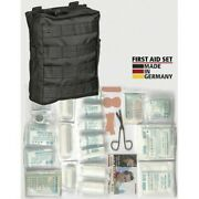 Asmc 16025502 Black Molle Belt Pouch Tactical First Aid Kit