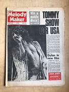 Who Melody Maker Magazine December 16 1972 - Roger Daltrey Cover + Tommy Review
