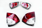 Up And Down Trunk Taillights Lens Cover For Honda Goldwing Gl1800 01-05 Clear