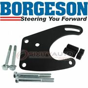 Borgeson Power Steering Pump Bracket For 1965-1973 Ford Mustang 4.7l 5.0l V8 Lp