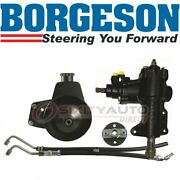 Borgeson Steering To Power Conversion Kit For 1967-1970 Ford Ranchero 4.7l Gc