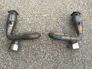 Porsche 911-996 Turbo Kemira Exhaust Catalytic Converter By Pass Pipe And Tips