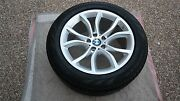 Bmw Oem Factory Original Style 594 X5 And X6 19 Wheel/tire/tpms And Center Caps