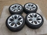 """Bmw X3 And X4 New Oem Factory Original Style 608 19"""" Wheel/tire/tpms And Cap Set"""