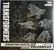 Misb In Usa - Transformers Takara-tomy Generations Selects Volcanicus In Hand