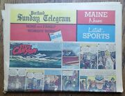Color Comics Section From November 24 1963 Portland Maine Newspaper Peanuts Etc