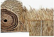 Commercial Grade Huge Thatch Roll For Tiki Bar Roof Thatching 33x60'