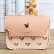 Mini Coin Purse Small Ladies Leather Mickey Mouse Coins Wallet Women Card Holder