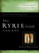 The Ryrie Nas Study Bible Hardcover Red Letter New American Standard 1995 Ed…