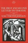The First And Second Letters To Timothy The Anchor Yale Bible Commentaries…