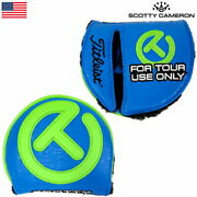 Rare Items Scotty Cameron Circlet Tour Large Malletputter Cover Blue/lime