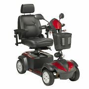 Drive Medical Ventura Power Mobility Scooter, 4 Wheel, 20 Captains Seat