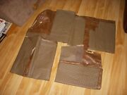 1960-68 Ford Falconcomet @ 62-68 Fairlane 4 Door Brown Seat Covers Nos