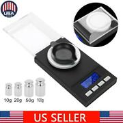 Portable Digital Jewelry Scale 0.001 Jewelry Gold Silver Coin Gram Pocket Scales