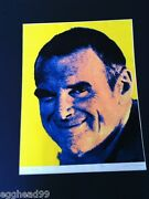 Charles Eames Silkscreen Signed Lithograph Print Herman Miller 1/50 Warhol Style