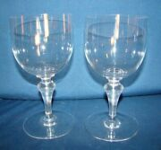Baccarat Normandie 2 Water Goblets