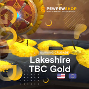 Tbc Classic Gold Lakeshire Server Alliance/horde In Stock Fast Delivery
