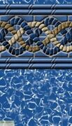Liner 15and039 X 24and039 X 52 Uni-bead Oval Ag Pool Gli Usa South Beach 20 Year Warranty