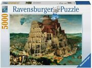 Ravensburger Tower Of Babel 5000 Piece Puzzle - New - Rare - Ships Fast