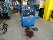 Miller Syncrowave 300 S Ac/dc Arc Welder W/ Sp4 Programmer W/ Cables And Gun