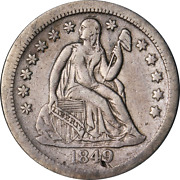 1849-o Seated Liberty Dime Great Deals From The Executive Coin Company