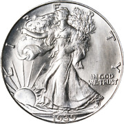 1939-d Walking Liberty Half Great Deals From The Executive Coin Company