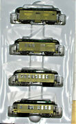 Athearn Rnd84319 New York Central Overton Set Baggage Combine Coach Ho Scale