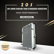 Radiator For Nissan Datsun 280z 75-78 280zx 79-83 Aluminum L6 3rows At 634