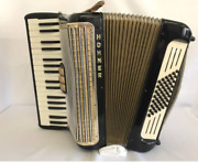 Hohner Accordion Made In Germany 34 Keyboard 48 Base Vintage Antique
