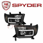 Spyder Auto Headlight Set For 2008-2013 Toyota Sequoia - Electrical Lighting An