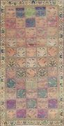 Antique Garden Design Bakhtiari Hand-knotted Area Rug Wool Oriental 5and039x9and039 Carpet