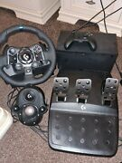 Xbox Series X 2 Controllers Logitech G923 + Shifter.