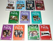Lot My Family Complete Series 1 - 7 10 11 Xmas Specials Region 2 Pal Dvd