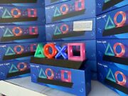 Playstation Controller Icons Night Light Table Lamp