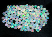 3x3 Mm Natural Ethiopian Opal Lot Opal Faceted Welo Fire Opal Loose Gemstone