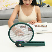 Electric Mosquito Fly Swatter Rechargeable Insect Killer Bug Zapper Racket