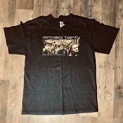 """Matchbox 20 """"more Than You Think You Are N. American Tour 2003"""" Vintage T-shirt"""