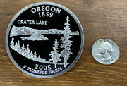 50 States Proof Quarter 4oz - Pure Silver National Collector's Mint-oregon 2005