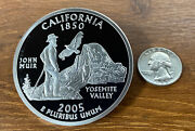 50 States Proof Quarter 4oz - Pure Silver National Collector's Mint - Ca 2005