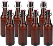 Glass Bottles With Swing Top Lids Amber Glass Bottles For Home Brewing Beer
