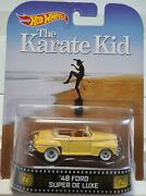 Hot Wheels 2014 - Retro Entert. - The Karate Kid - And03948 Ford Super De Luxe