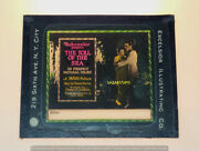 Anna May Wong 17 Years Old Glass Magic Lantern Slide Toll Of The Sea 1922