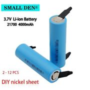 3.7v 4000mah Nickel Plate Li-ion Battery 40a Rechargeable Bicycle E Bike Scooter